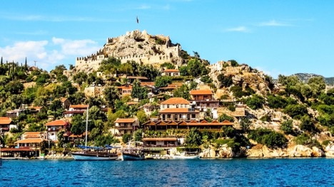 Tourist attractions in Antalya Turkey