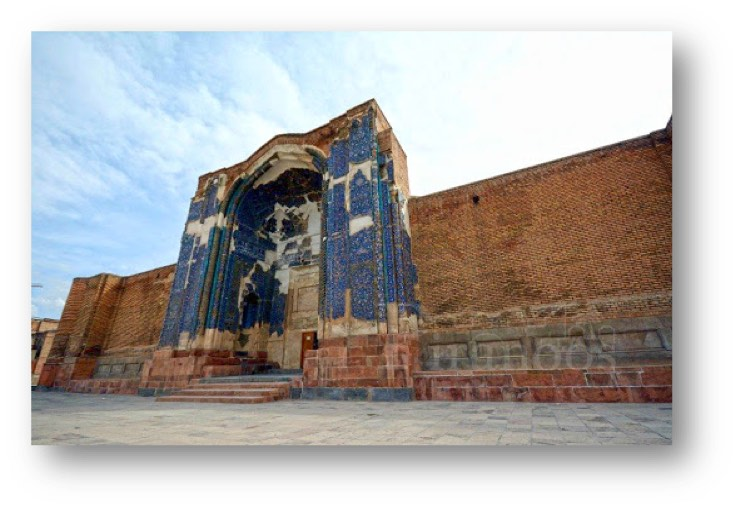 Blue mosque in Tabriz province