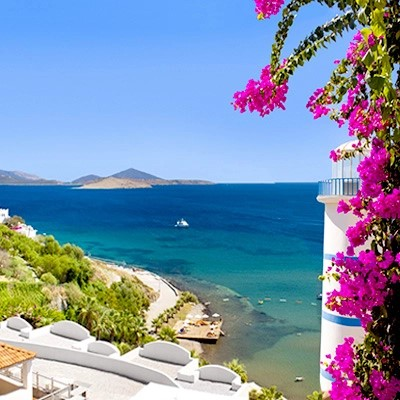 The geographical location of Bodrum